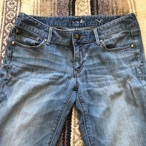 Express jean leggings